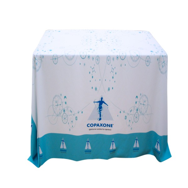 Draped Tablecloth For Square Table