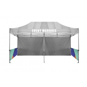 Half Wall Single Sided For 6m x 3m Marquee