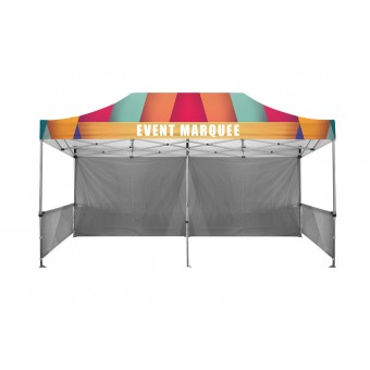 Branded Roof and Valance For 6m x 3m Marquee