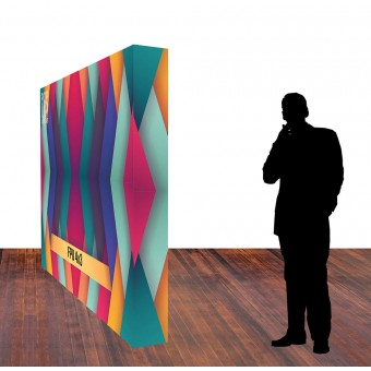 Fabric PopUp Wall 4x3