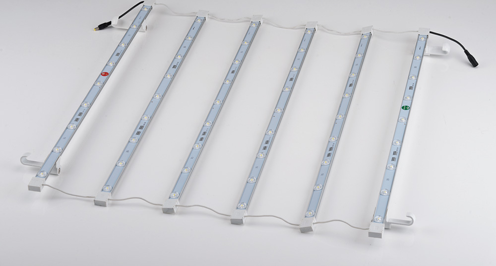 LED Curtain in 1x1 section of Pop-Up Configuration