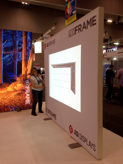 TexFrame - Projection