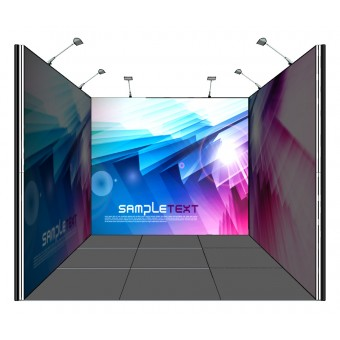3x3 Inline Shell Scheme Booth Upgrade