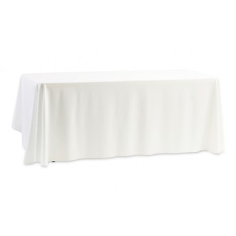 Draped Tablecloth for Rectangular Table