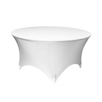 Stretch Tablecloth for Round Table
