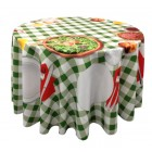 Draped Tablecloth for Round Table