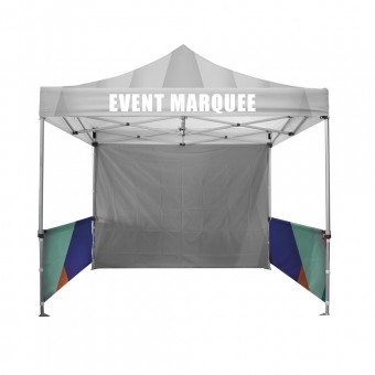 HalfWall Single Sided For 3m x 3m Marquee