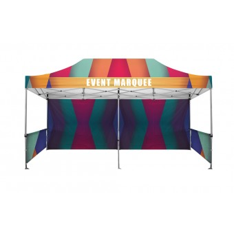 Premium Event Marquees - 6m x 3m (Branded Roof and Valance Package)