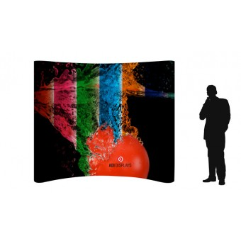 BANNERAD™ Magnetic PopUp Wall 3x3C