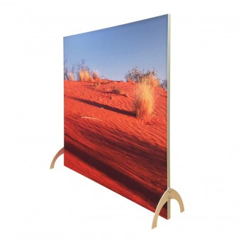 2400mm x 2400mm free standing straight wall