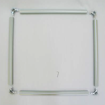 3D TexFrame Assembly Top View